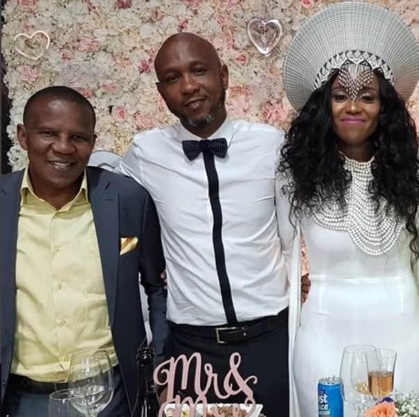 Meet the new Mrs Cele: Thembeka Zondo's white wedding had a traditional twist