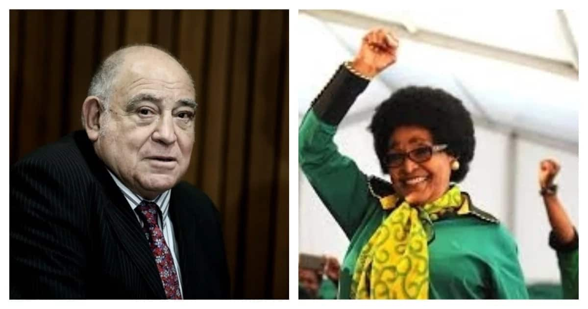 """""""She leaves us with the spirit of the rebel"""" - Ronnie Kasrils about Mama Winnie"""