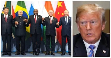 Take that Trump: BRICS leaders fire back at US president