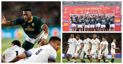 Two Springbok teams beat two English ruby sides in historic sporting weekend