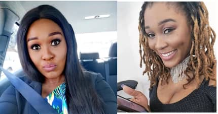 Lady Zamar has changed her look, and not just a little bit