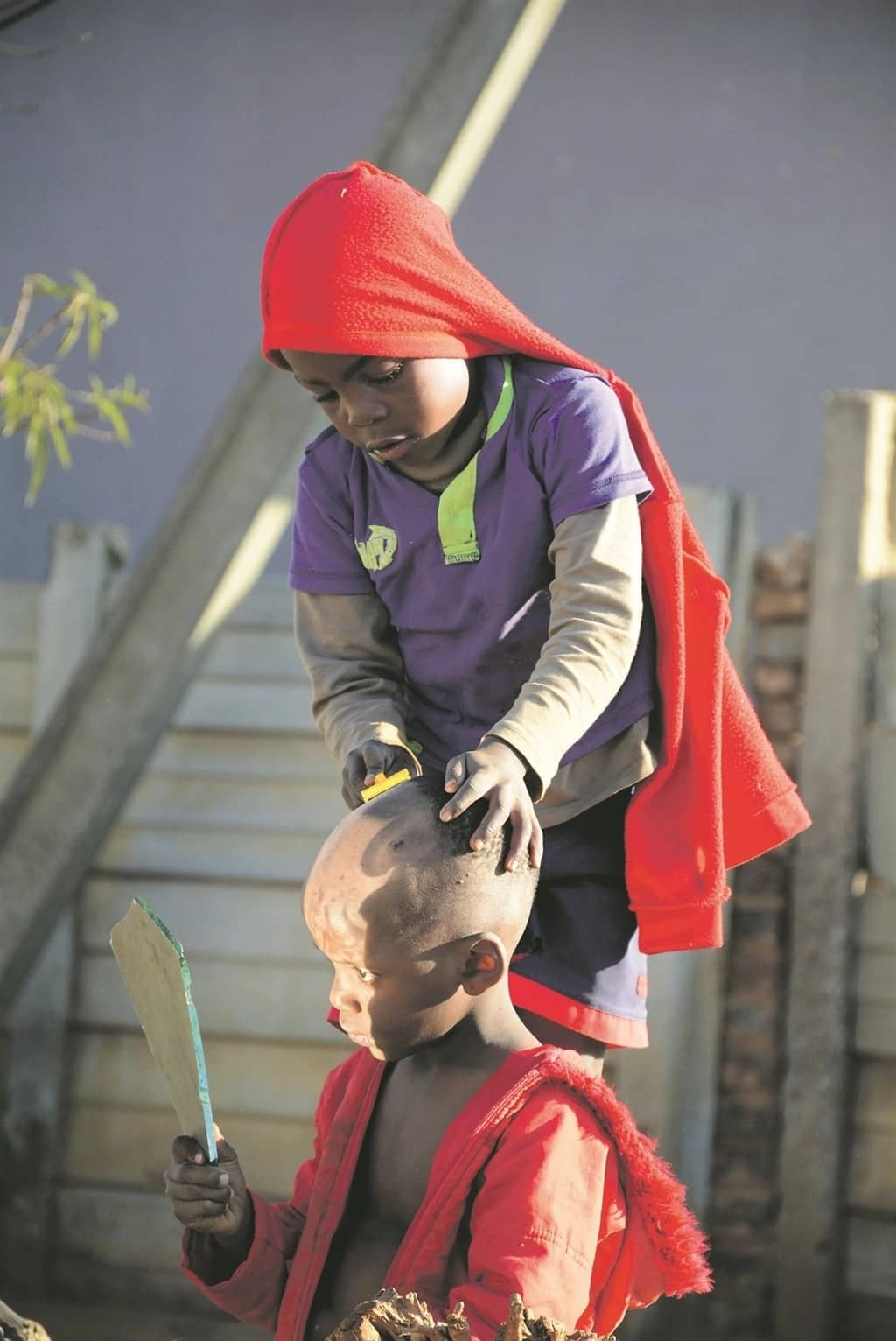 Meet Abel Mbatha, the 7-year-old kasi barber who is making a name for himself