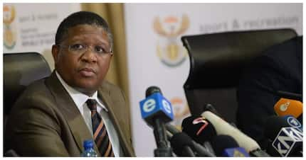 What the actual…..? South Africans react to Fikile Mbalula's new Twitter display name