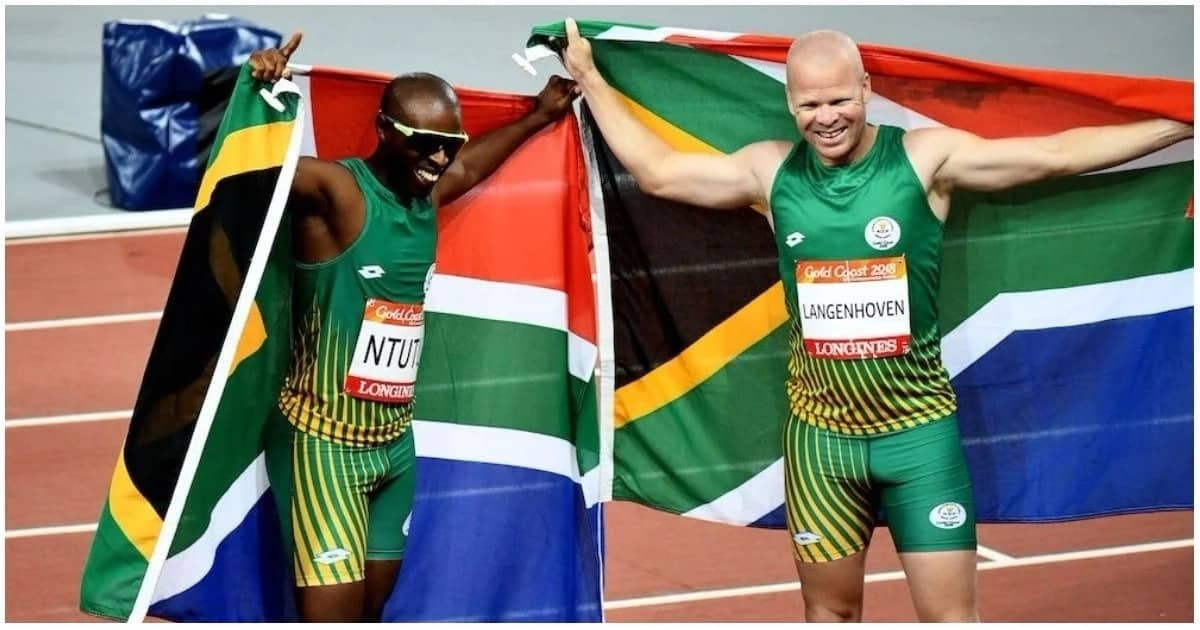 Ntutu and Langenhoven. Source: Team South Africa