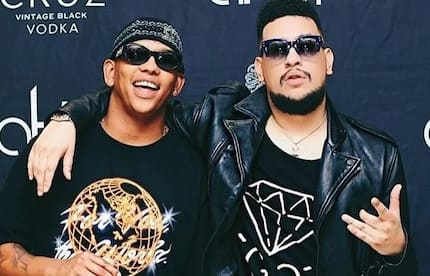 DJ Zinle makes a surprise appearance at AKA's #TouchMyBlood party