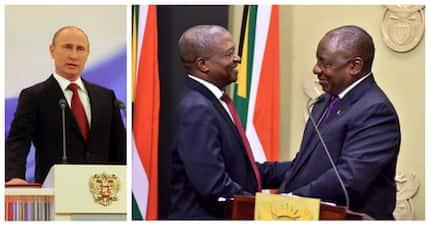 SA supports Ramaphosa's decision to send Mabuza to meet Putin