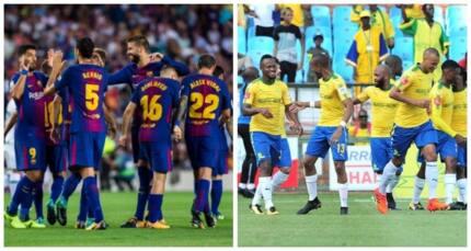 Mamelodi Sundowns to tackle FC Barcelona at the FNB Stadium