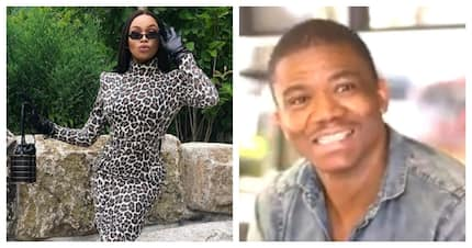 Ishmael Morabe remembers how Bonang Matheba fed him when he was broke