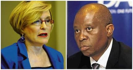 Mayor Mashaba and Helen Zille cause outrage with Trump and colonialism tweets