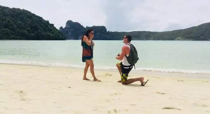 Another win for SA men: Man's romantic Thailand proposal melts hearts