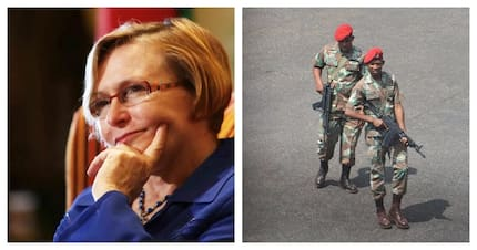 Zille preparing to ask for army's help to combat crime in Western Cape