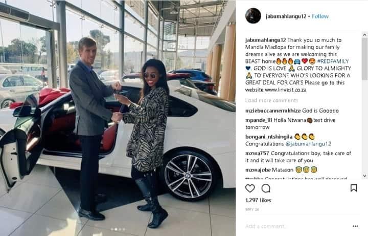 Jabu Mahlangu's R1 million baby: Former Kaizer Chiefs star buys a new BMW