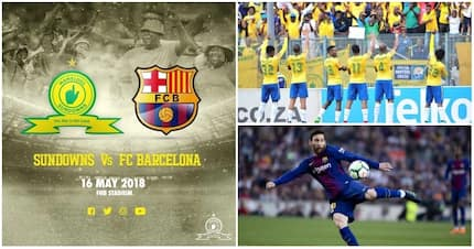Champions vs champions: Ticket prices for Sundowns vs Barcelona clash announced