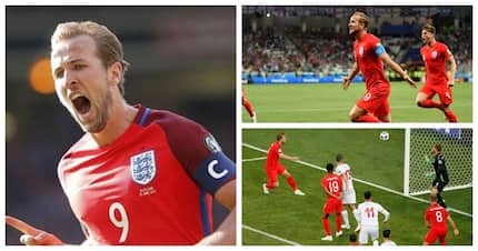 Harry Kane leads England to 2-1 victory over Tunisia in a pulsating encounter