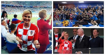 Is Croatia's president the best fan at the 2018 FIFA World Cup?