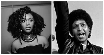 Nomzamo Mbatha sings Mama Winnie's favourite struggle song