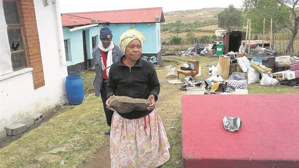 Nofenitshala and her husband Zongezile Adonisi. Source: Daily Sun/Mbulelo Sisulu