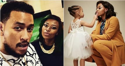 DJ Zinhle opens up about her past with AKA and forgiving him