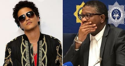 """Mbalula claims """"Comrade Bruno Mars"""" for the ANC, and it has tweeps in stitches"""