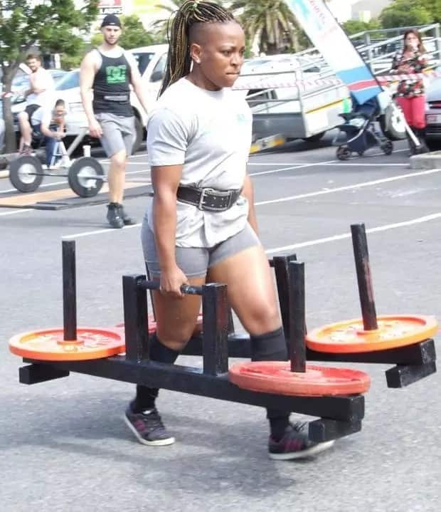 Faith qualified for the South African Strongman Nationals. Source: Daily Voice