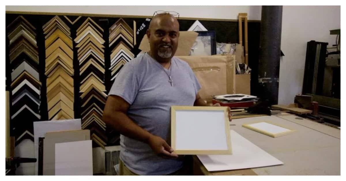 Saving water one plate at a time: Cape Town framer designs plates that don't need washing