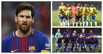 Messi rested ahead of Barcelona's trip to face Sundowns