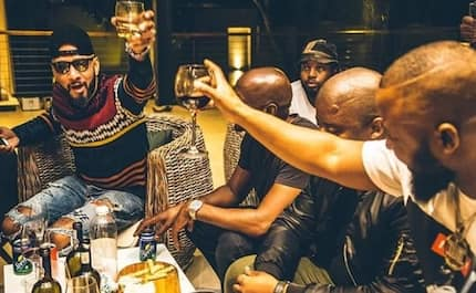 Swizz Beats parties with Cassper Nyovest and Black Coffee in South Africa