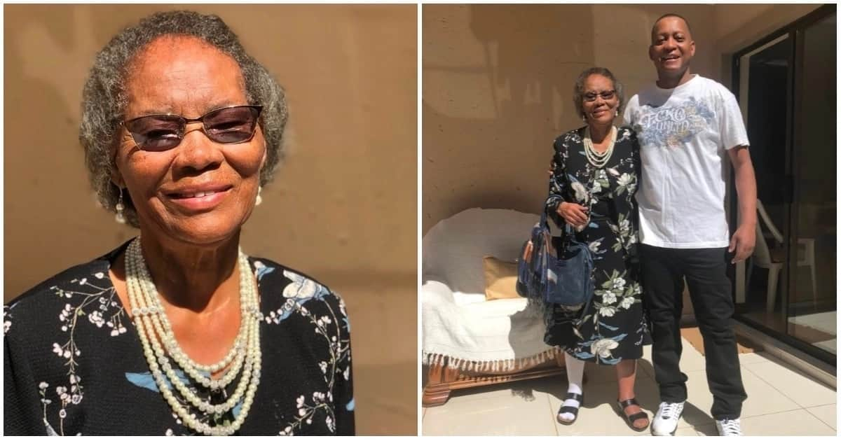 Chris Maroleng's mom turned 81 on Freedom Day but looks amazingly younger