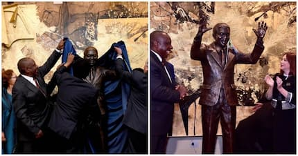 President Ramaphosa unveils Madiba statue at United Nations in New York
