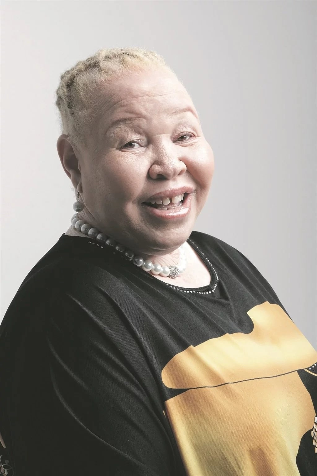 Nomasonto Mazibuko, director of Albinism Society of South Africa. Source: Daily Sun