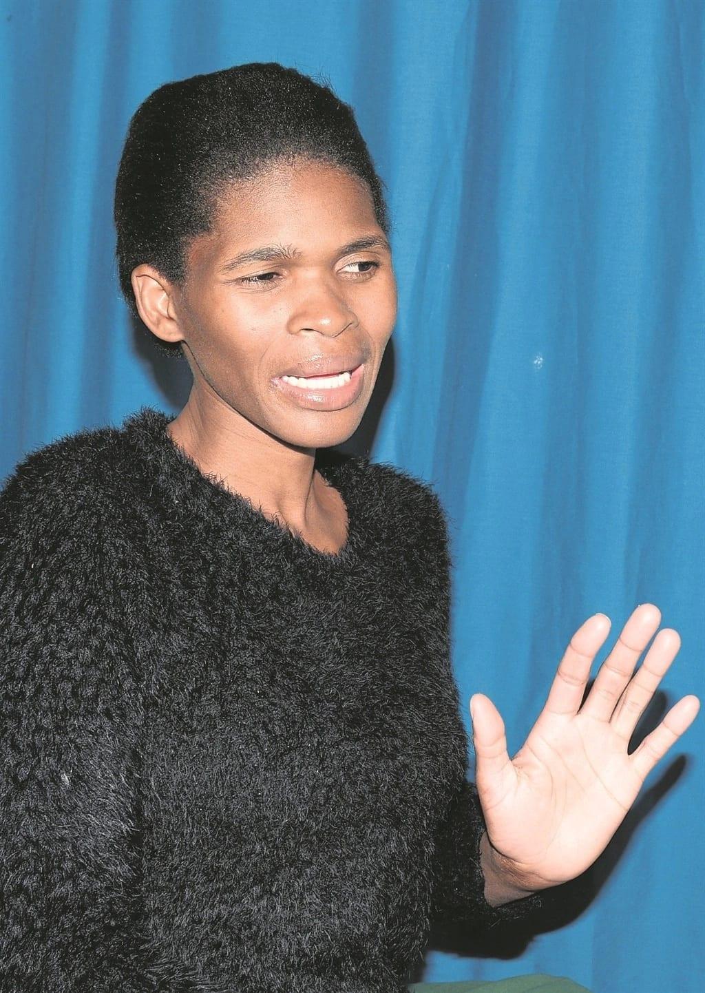 Thandeka Mtshali can't get an ID. Source: Daily Sun/Morapedi Mashashe