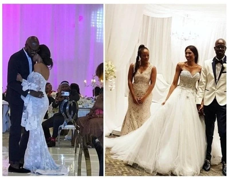Married For 8 Years Dj Black Coffee And Enhle Mbali Celebrate Wedding Anniversary