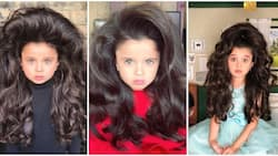 5-year-old Mia Aflalo stuns internet with her insanely gorgeous hair