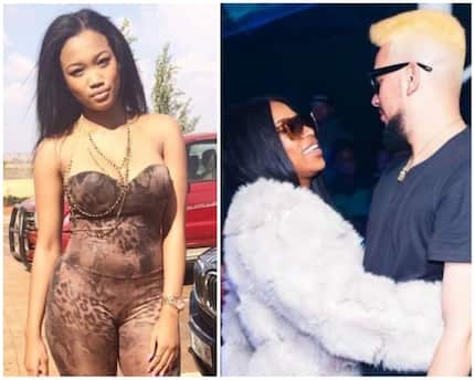 Did Nicole Nyaba just confirm AKA and DJ Zinhle are dating again?