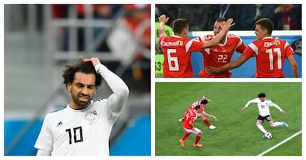 Salah's World Cup dream turns into a nightmare as Egypt lose to a rampant Russia
