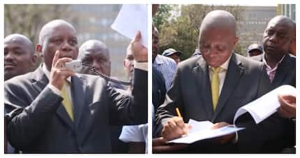 EFF demands an apology from Mashaba after informal trader's arrest