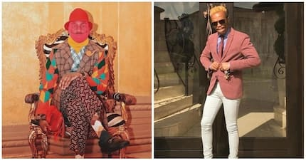 Somizi shows off his MCM: Entertainer has love and respect for Riky Rick