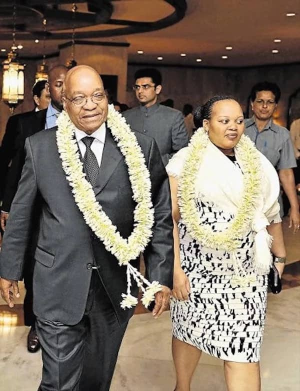 Zuma pictured with his youngest wife, MaNtuli. Source: news365.co.za