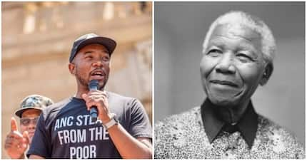 Mmusi Maimane absolutely roasted on Twitter for calling himself 'mini-Mandela'