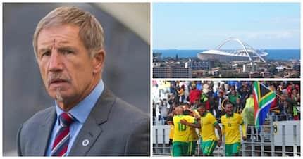 Stuart Baxter questions wisdom of SAFA decision to host Libya in Durban