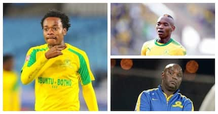 Mamelodi Sundowns downplay impact of losing Percy Tau and Khama Billiat