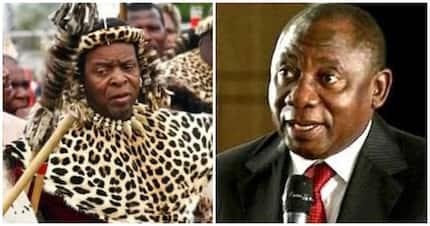 Zulu king demands urgent meeting with President Ramaphosa