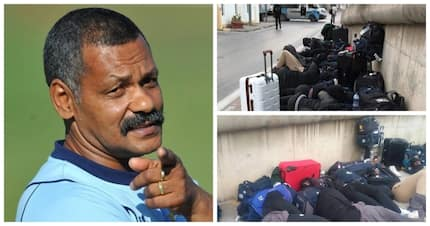 Shocking pictures of Zimbabwe's national rugby team sleeping in the streets emerge