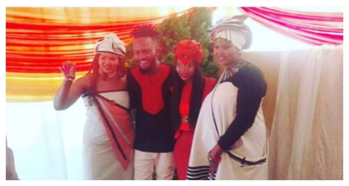 Kwesta and Yolanda's celebrate their traditional Umbondo ceremony