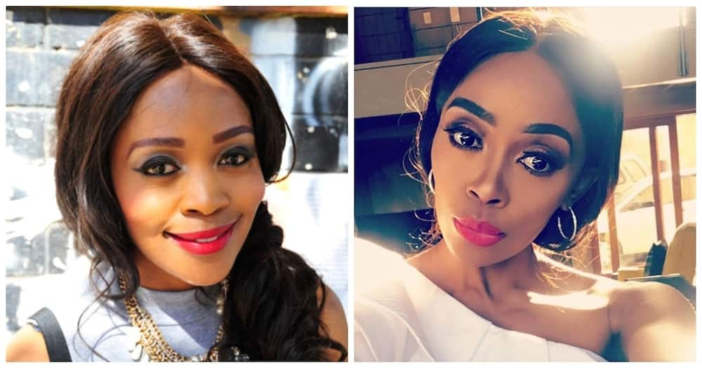 Thembi Seete debuts short hair and looks absolutely flawless