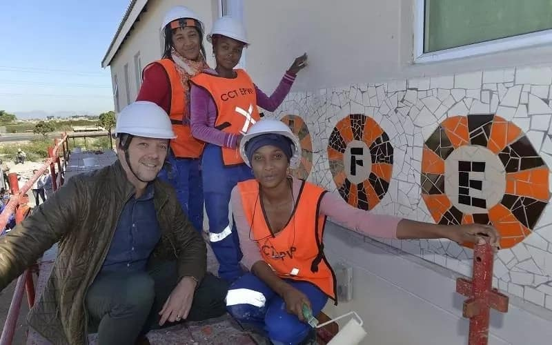 Some of the youths participating in the project. Source: City of Cape Town