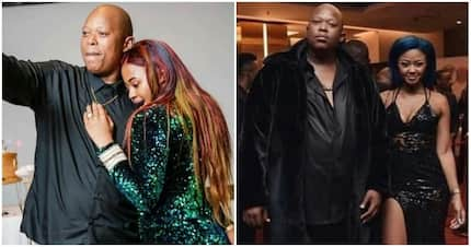 Tweeps react to Babes sharing a photo with Mampintsha, or did he post it?