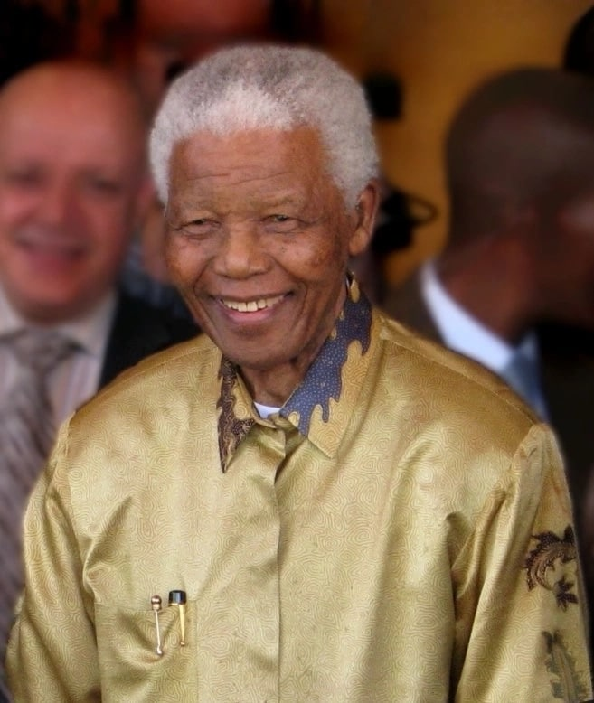 The late President of South Africa, Nelson Mandela. Source: Google