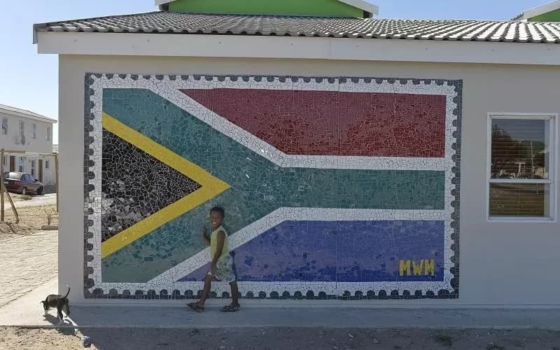 An impressive mural. Source: City of Cape Town