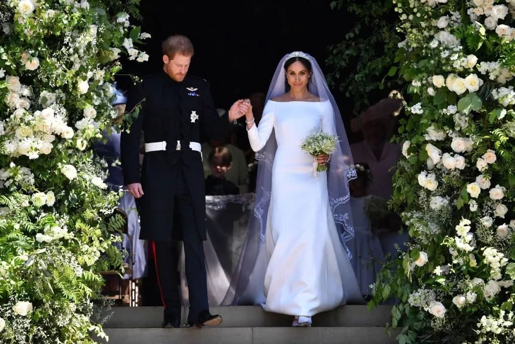 Meghan Markle's classically flawless Givenchy dress in detail
